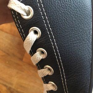 Converse Shoes - Blue Leather Converse